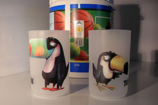 Impresión fotocromática sobre envases